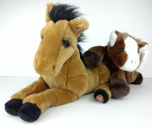 LOU RANKIN Dakin Plush Brittany Horse + NWT Velvet Touch