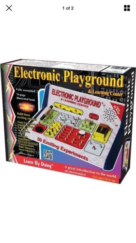 Elenco  Electronic Playground 50-in-One, Fun Educational Kids Game, New