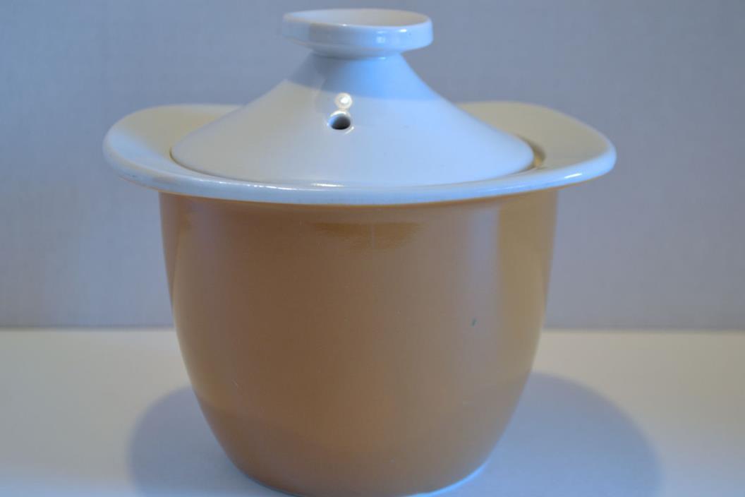 Vintage Hall Mustard Casserole Dish Lid $15.95