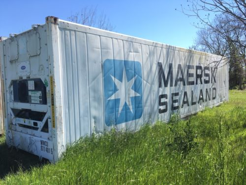 Containers 40' HC Working Refrigerated Container **Delivery to Norfolk, VA**