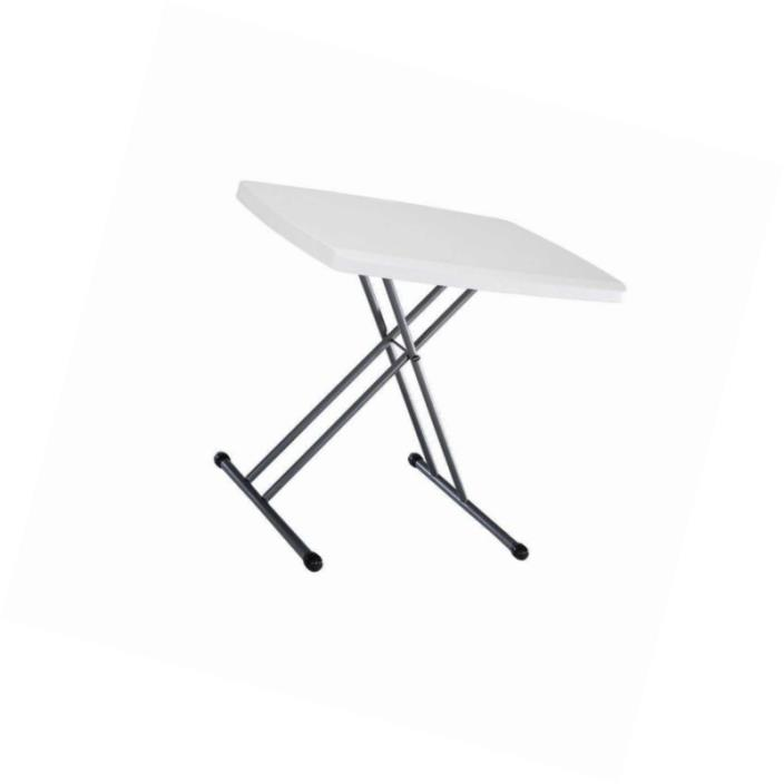 Lifetime 28241 Folding Personal Table, 30 by 20 Inch, White
