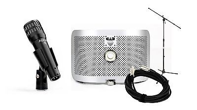 Audix i5 Microphone w/ CAD AS16 Acoustic Shield & MS7701 Stand