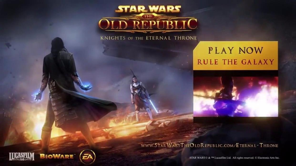 Star Wars: The Old Republic - Eternal Throne Ultimate Pack Promo CODE