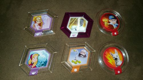 lot of 6 Infinity Discs ~ Brave, Up & More