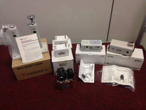 Lot Of Vicon Cameras,mounts,Power Supplies And Vari-focal Lenses Price reduced
