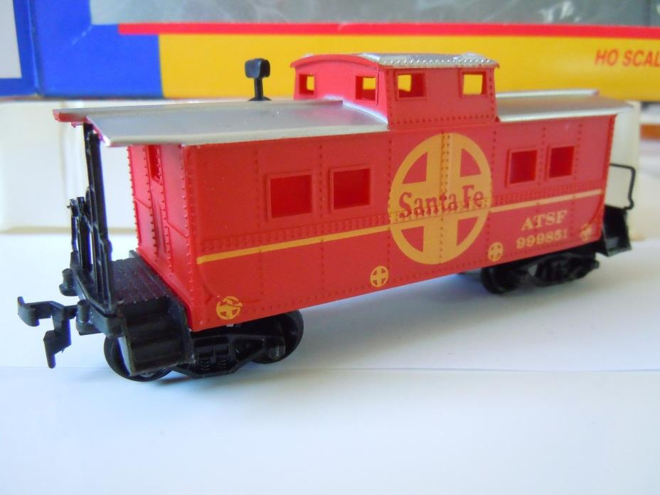 HO Scale Life-Like Sante Fe Caboose AT&SF Car 999851~ NEW IN BOX~INVENTORY# 1169