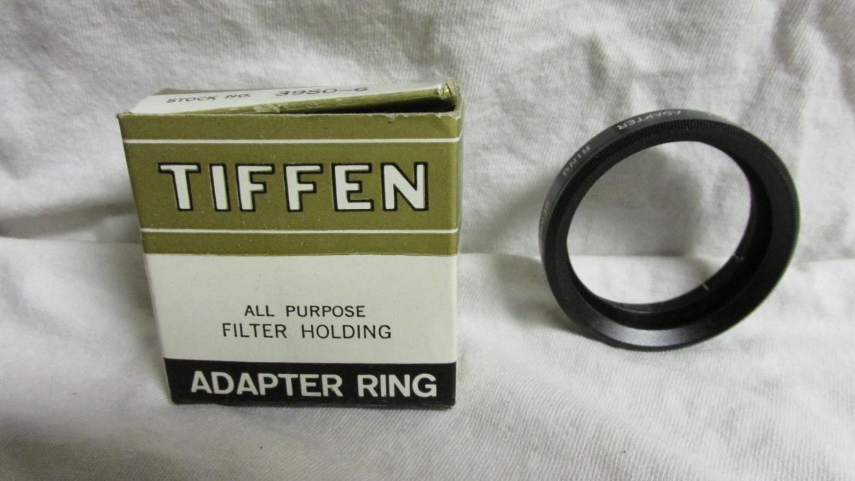 VINTAGE TIFFEN ADAPTER RING WITH HOLDER SERIES 6 IN BOX