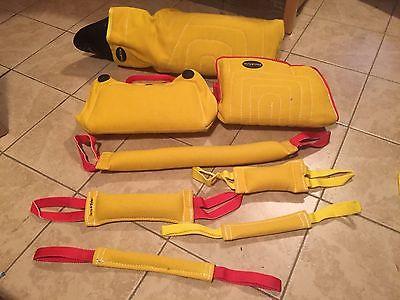 Bite Sleeve Set, Wedge & Tugs, IPO, Schutzhund, K9, PSA, Police K9