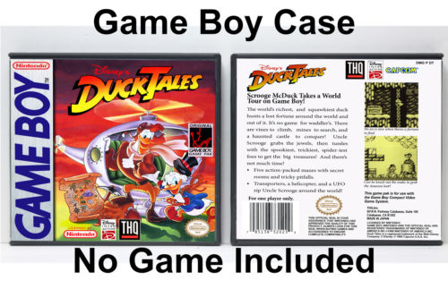 DuckTales - Game Boy GB Custom Case *NO GAME*