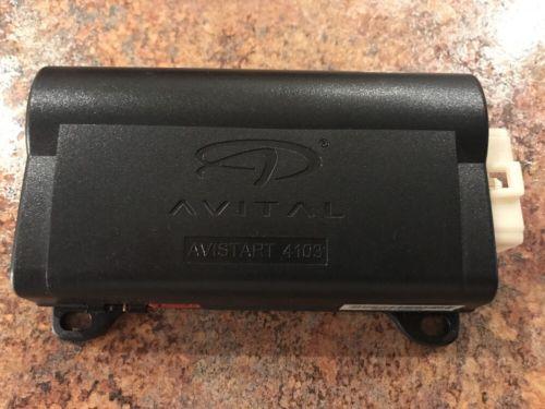Used Avital Avistart 4103 Remote Auto Car Start Starter Computer Module Only!!!!