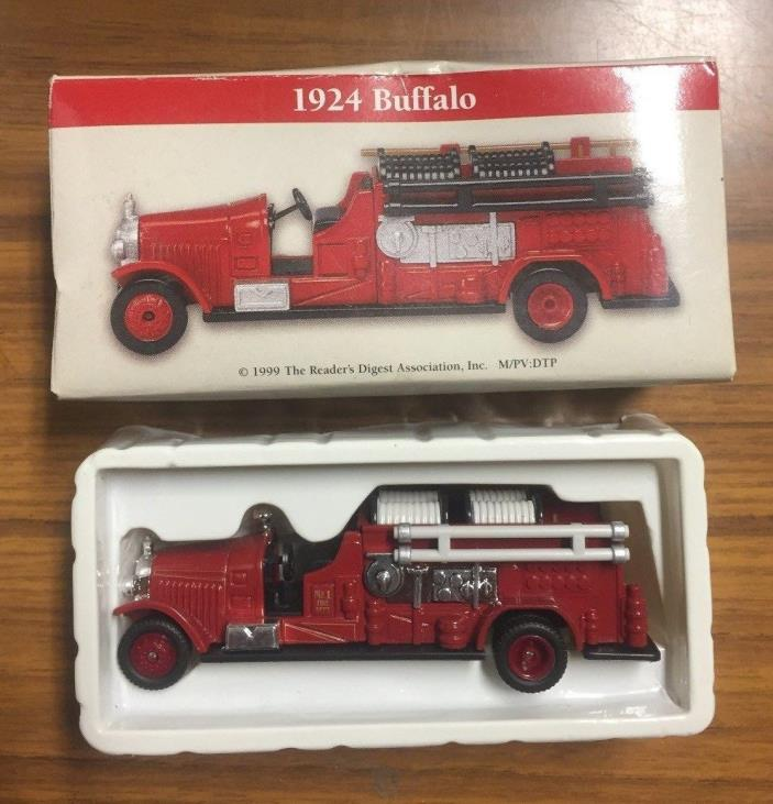 Vintage Boxed 1999 1924 Buffalo Miniature 3-3/4