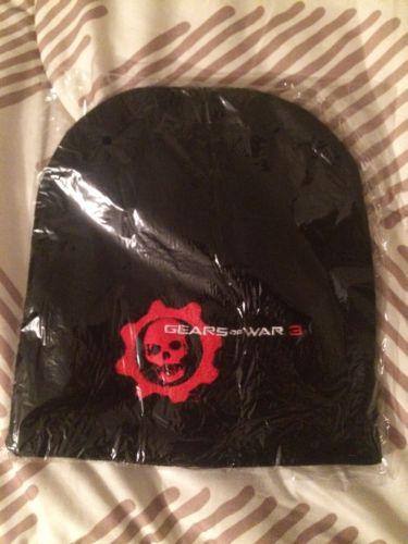Gears Of War 3 Promo Skull Cap Knit Winter Hat