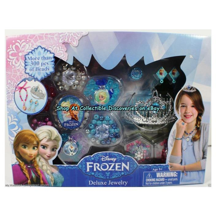 Disney Frozen Deluxe Jewelry More Than 300 Pcs Of Beads 1 Kit