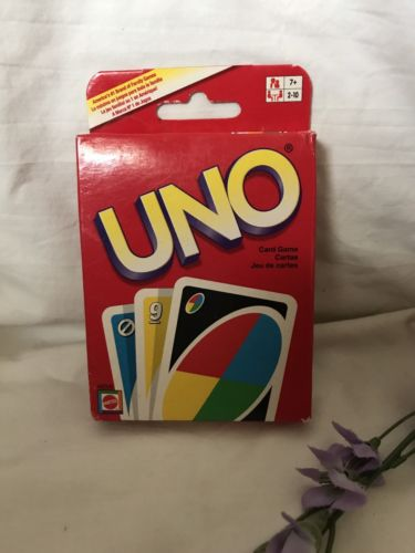 Original UNO Card Game Kids Toy Game Family Fun