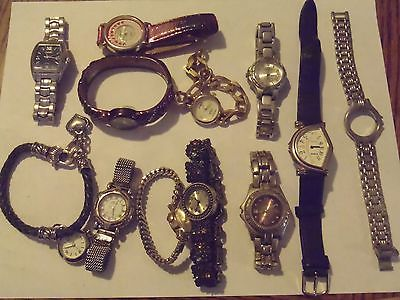 Lot of Watches for Parts