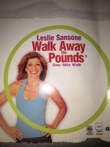 LESLIE SANSONE WALK AWAY THE POUNDS -THE ONE MILE WALK DVD