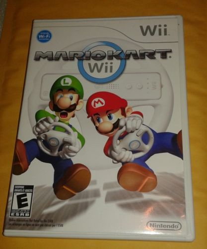 Replacement Mario Kart Wii Case & Manual ONLY for Nintendo Wii (No Disc)