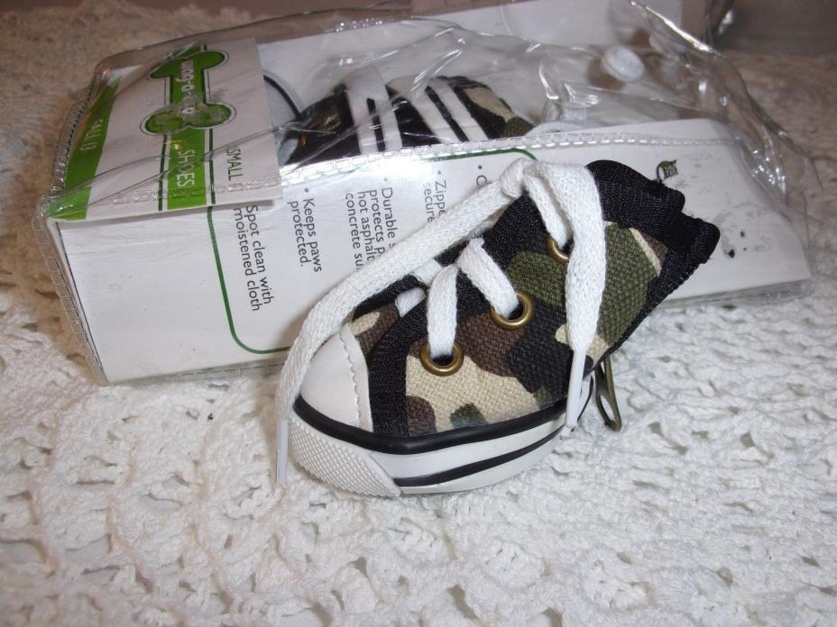 CAMO Dog Sneaker Shoes Pet Puppy S new petco Wag-a-tude snow boot small