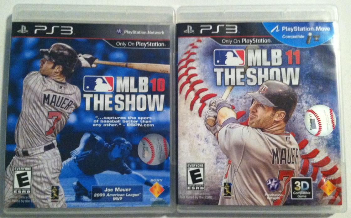 PS3 lot - MLB The Show 10 & 11