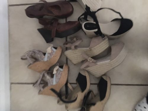 Lot Of Women Shoes Size 6 Summer Shoes