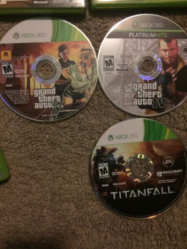 lot of xbox 360 games