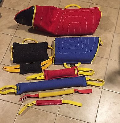 Working Dog Set,bite sleeves, tugs, pillow, PSA, Ringsports, Police K9, IPO