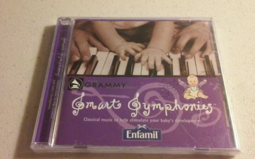THE GRAMMY FOUNDATION Smart Symphonies Music CD for Baby's -New (#CD1073S)