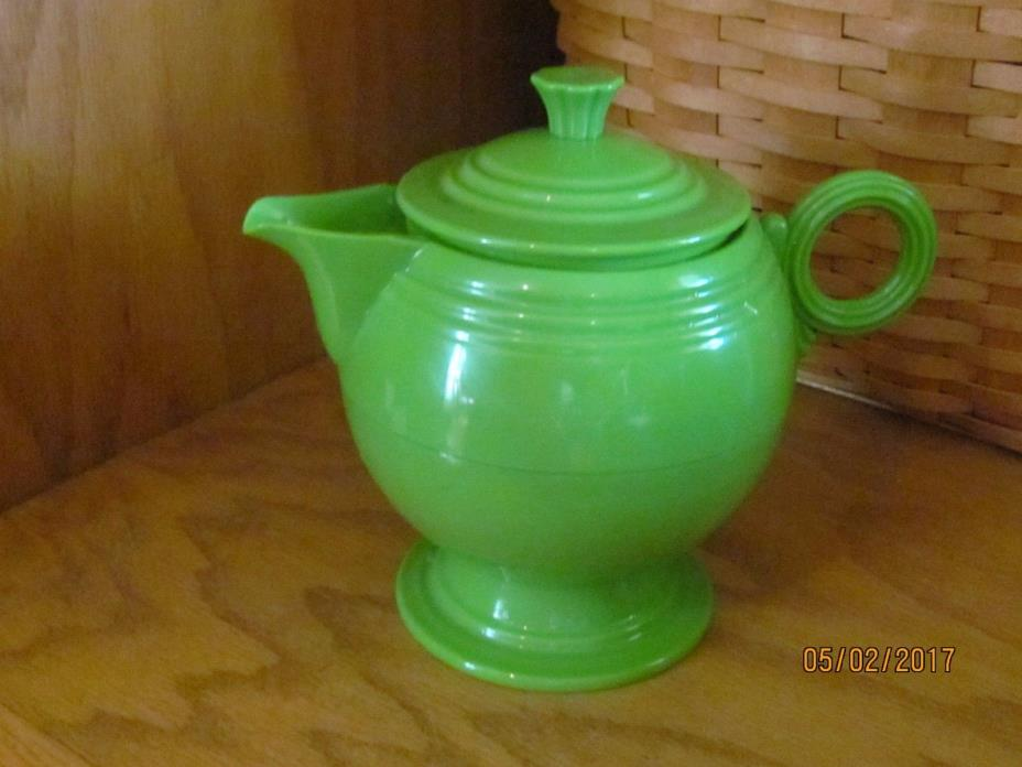 Fiesta Green Coffee Carafe Pot Insulated Thermos Warmer Butler NEW USED