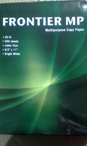 Frontier multipurpose print copy Paper, 8-1/2 x 11