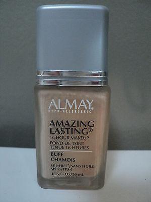 Almay Amazing Lasting 16 Hour Liquid Makeup BUFF SPF 6