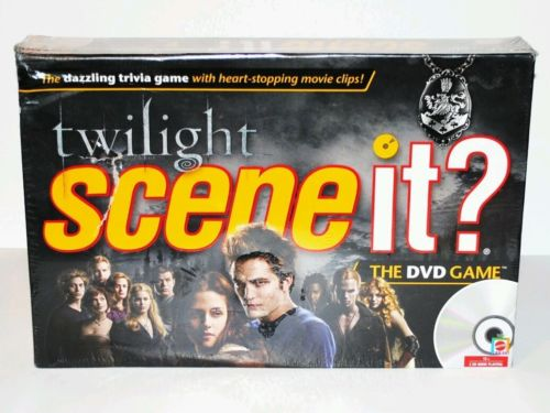 NEW twilight Scene it? dvd board game sealed complete Mattel
