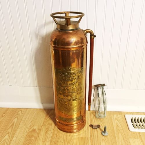 Antique General QuickAid Fore Guard Soda-Acid Fire Extinguisher