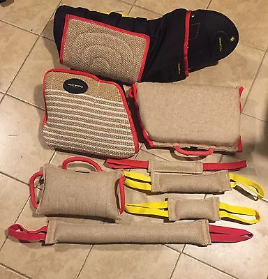 Working Dog Set,bite sleeves, tugs, wedge, pillow, PSA, Ringsports, K9, IPO