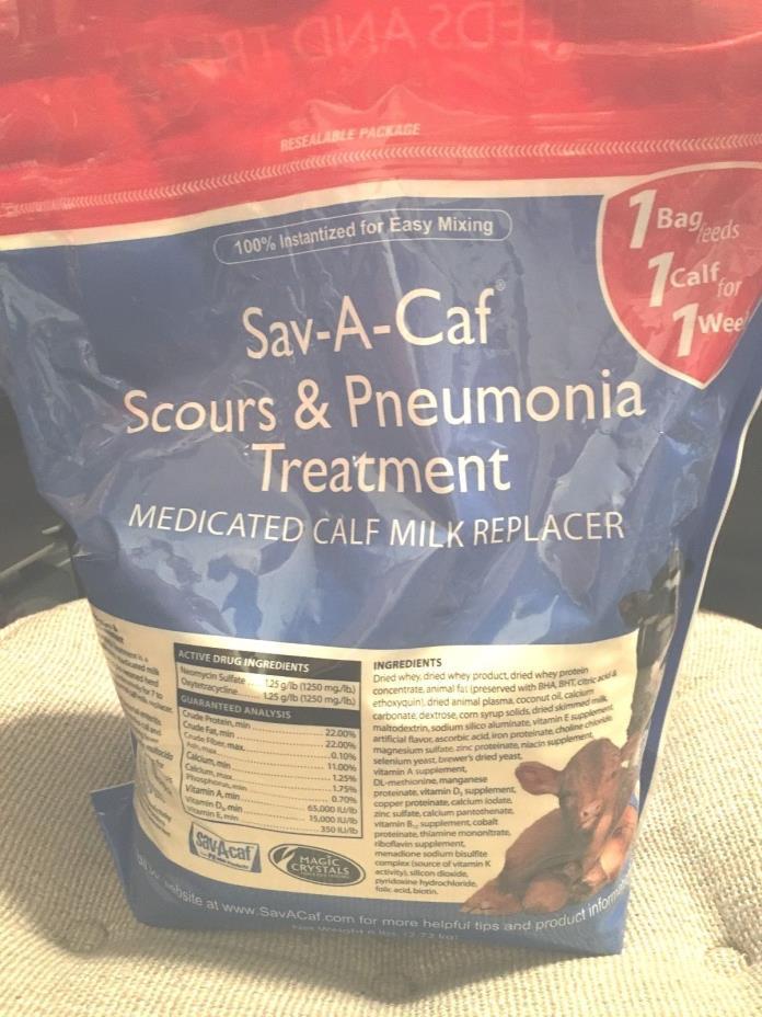 Sav-A-Caf Scours & Pneumonia treatment 6LB