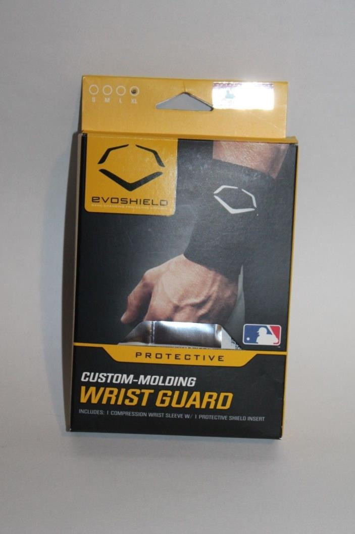 EvoShield Custom Molding Wrist Guard Sleeve & Insert Black XL 2044150.100.XL