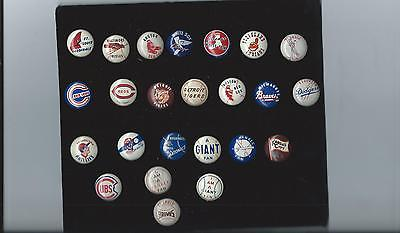 Vintage 1940-50's Baseball Pin New York Yankee Fan Blue Pin