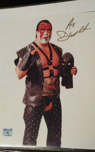 Ax Demolition WWF 8×10 Autograph 100% Authentic Guaranteed!!!