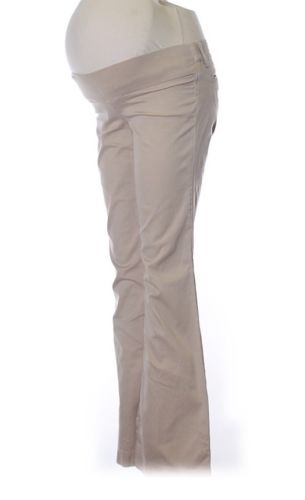 Juicy Couture Maternity Khaki Chino Pants Size 27 2/4 Bootcut Flare Flattering