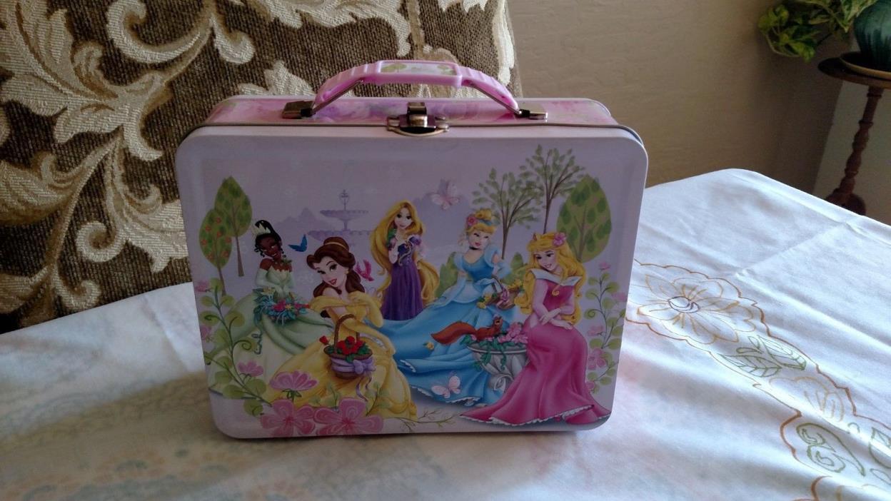 Disney Pricesses Metal Lunch Box