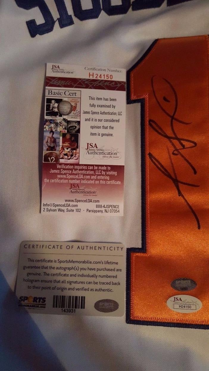 Amare Stoudemire Signed Knicks Jersey JSA COA Auto Suns Reduced Price