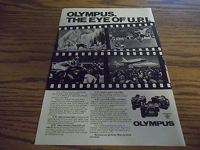 vintage print ad, Olympus Camera (1970's)