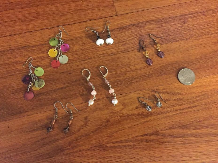 Lot of 6 Pairs of Earrings from Icing