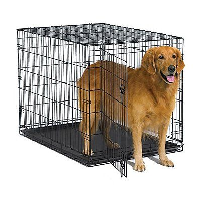 New World Crates Kennels Folding Metal Dog Crate