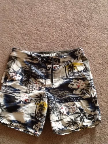 Men's Hurley Hawaiian Print Swim Shorts