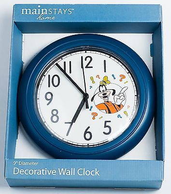 Disney Goofy Decorative Wall Clock. 9