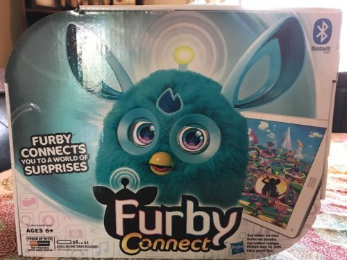 Furby Connect Hasbro Teal Blue New Interactive Toy NIB