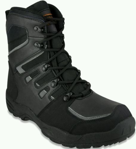 London Fog Mens Greenwich Cold Weather Hiker Boot Black 9M+ US