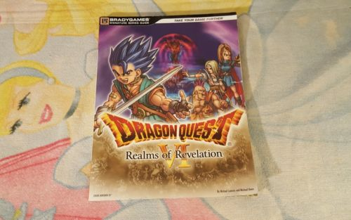 Dragon Quest VI 6: Realms of Revelation (Nintendo DS) Brady Strategy Guide