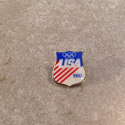 1980 Lake Placid USA OLYMPIC Team Games Pins Enamel