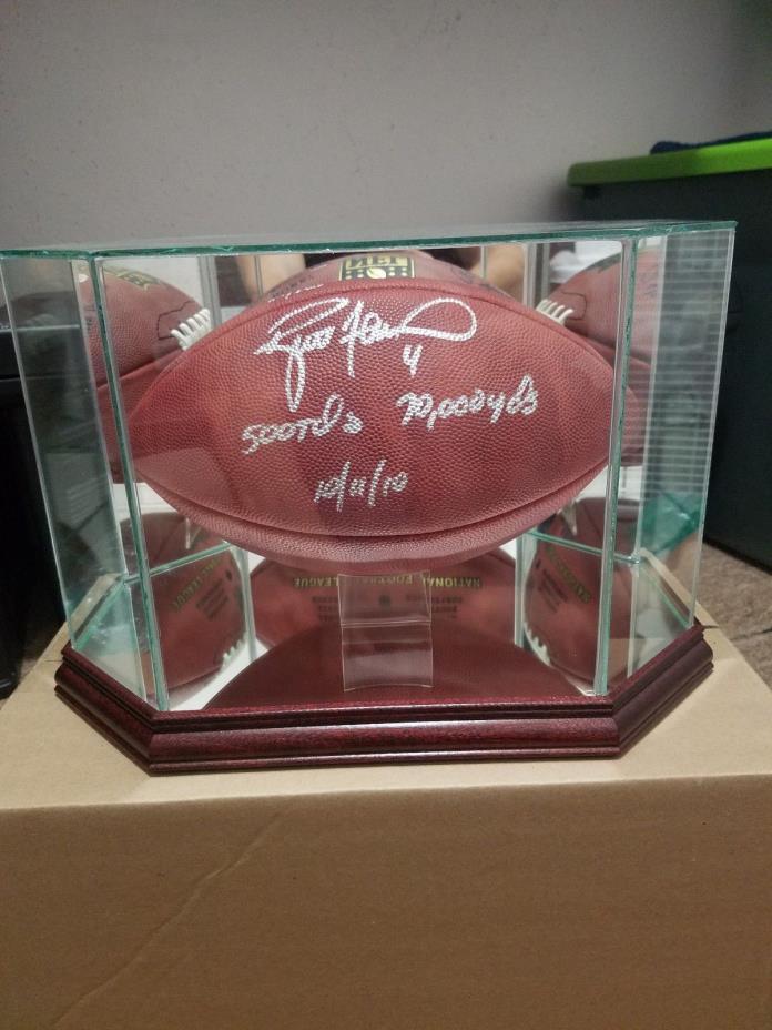 Brett Favre Autographed Authentic NFL Duke Football Green Bay Packers Favre COA